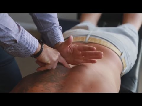 Dr. Ian - Breathing RESTRICTED and acute thoracic PAIN - FIXED by Gonstead Chiropractic