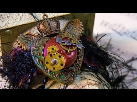 How to make a Steampunk Heart - Jewelry Making