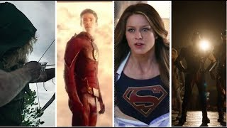 Arrowverse - All Opening Intros