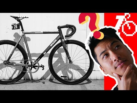 MASH 2018 Frameset, Brakeless Is Safe(ish) & $1,500 for 1st Fixed Gear? | Fixed Gear Q&A 3