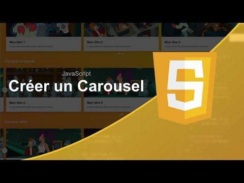 How to make carousel using javascript -