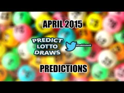 PLDUK Monthly Predictions - April 2015 (National Lotto)
