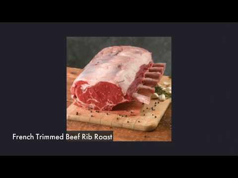 Stauffers Signature French Trimmed Beef Rib Roast