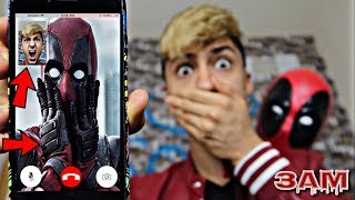 DO NOT FACETIME DEADPOOL AT 3AM!! *OMG HE CAME TO MY HOUSE*