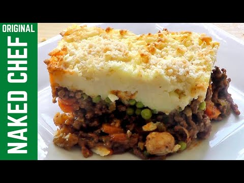 COTTAGE PIE How to make food recipe - similar to shepherd's pie