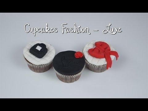 Cupcakes Luxe Chanel - Louboutin avec Pushyourpink | Cupcakes Fashion