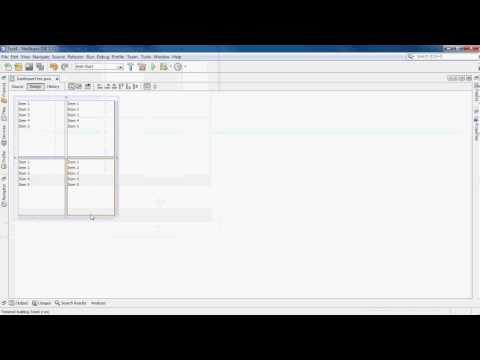 How to get your components to resize properly with JFrame Netbeans GUI Builder (Matisse)