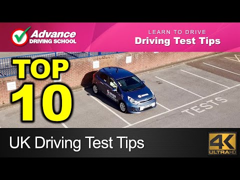 Top 10 Driving Test Tips  |  New UK Driving Test