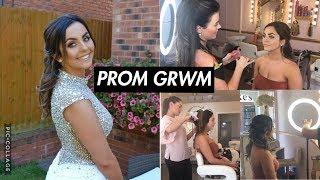 PROM 2018- GRWM ||Jess Vick||