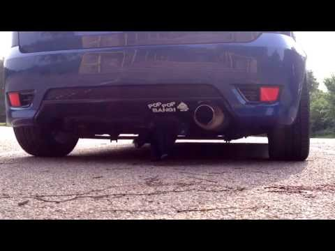 Ford Fiesta ST Mountune MR200 Exhaust Sound - Pop Bang Crackle