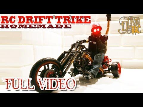 RC DRIFT TRIKE homemade FULL BUILD