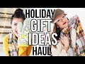 Last Minute Holiday Clothing & Gift Idea Haul || Sarah Belle