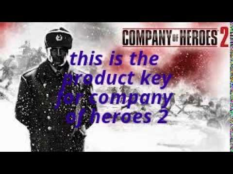company of heroes 2 product key (free)