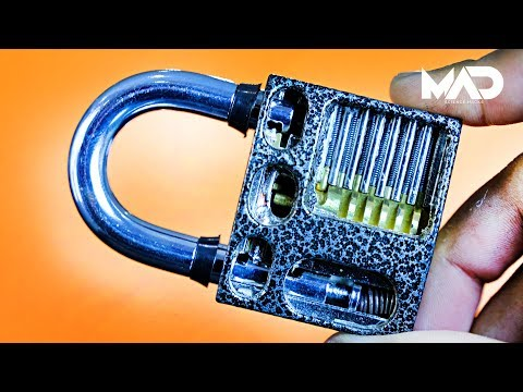 What's inside a lock? (x-ray view)