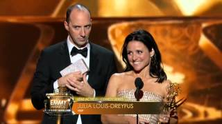 Download Julia Louis Dreyfus wins an Emmy for Veep 2013 Video