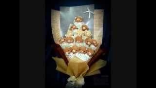 公仔花束递送服务 Melaka Florist Gift Shop Toys Flower Soft Toys Bouquet Delivery