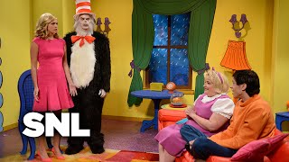 The Cat In The Hat and Linda - SNL
