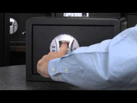 Compact Biometric Fingerprint Scanning Safe by Barska AX11620