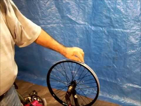 How to paint bicycle rims (an easier way)