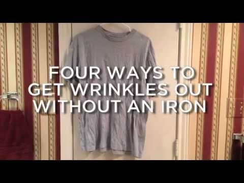 Wrinkled Shirt Fast Fix, No Iron Required!