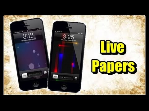 Alternative to vWallpaper for ios 6.1/6.1.2, how to get live wallpaper on iPhone/ iPod Touch/ iPad
