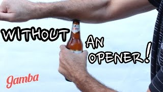 How to Open a Beer Like a Boss #2 - (4 Great Ways!)