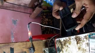 Lava battery shutdown problam