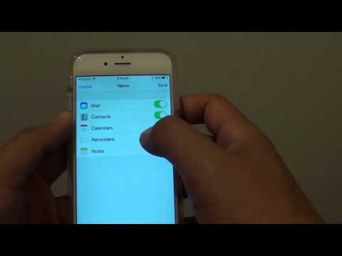iPhone 6: How to Setup Yahoo Email Account