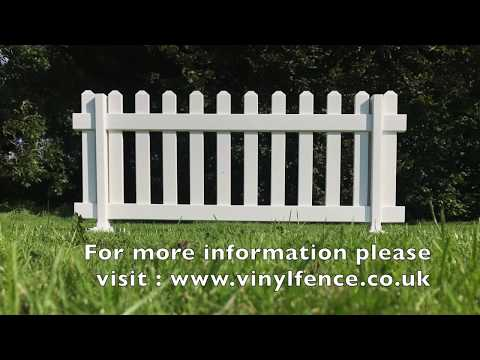 Temporary Picket Fence Assembly