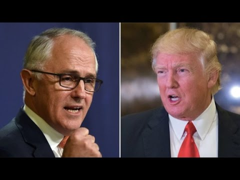 Donald Trump tweets about Australian PM call