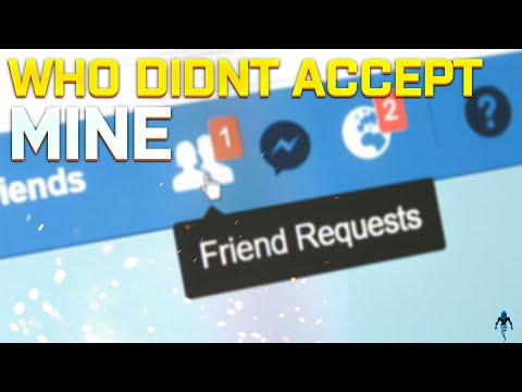 Find out Who didn't Accept My Facebook Friend Request - Friendship Denied ?