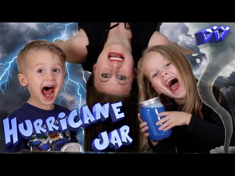 How To Make A Hurricane In A Jar - Easy Relaxing Glitter Sensory Toy!