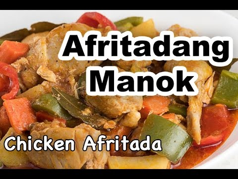 Chicken Afritada with Bell Pepper