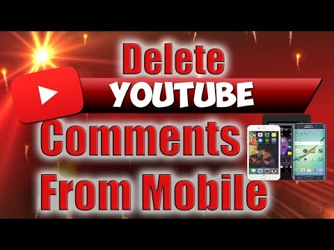 Delete YouTube Comments from Mobile Device