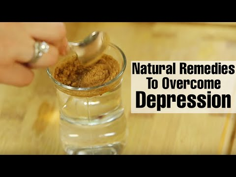 2 Simple Natural Remedies To TREAT SIGNS OF DEPRESSION