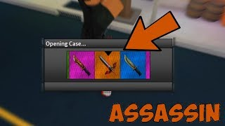 new halloween 1300 candy corn unboxing roblox assassin