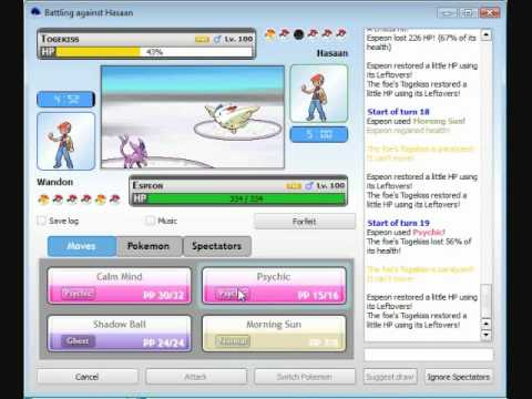 Pokemon Battle Simulator Tournament 2 (Begin July) - Best