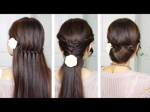 Quick & Easy Holiday Hairstyles with Twist Braids