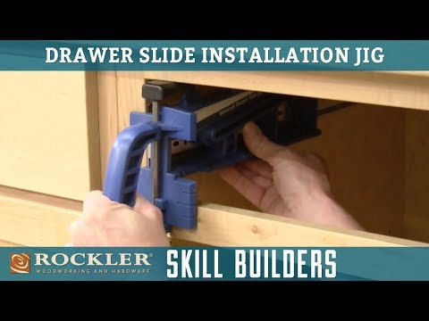 How to Install Metal Drawer Slides | Easy Drawer Slide Installation