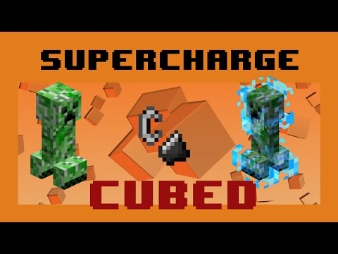 Make SuperCharged Creepers in survival! - SuperCharge