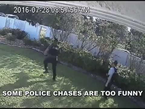 Police Chase Is Too Funny