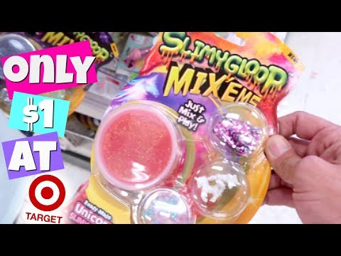 $1 SLIME, SQUISHIES + SQUEEZE TOYS AT TARGET! NEW!