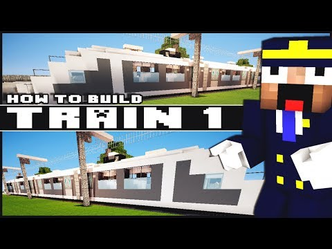 ► Minecraft : How to Make - Train (Part 1)