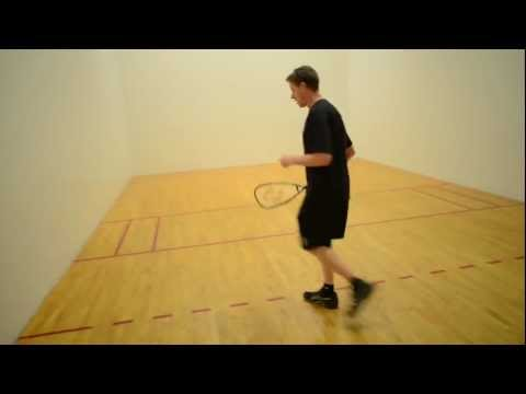 Hit a Killer Z-Serve in Racquetball