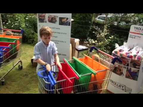 Trolley Bags - Simple Shopping Trolley system