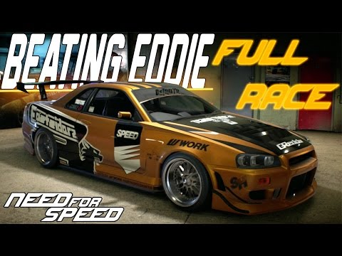 Need For Speed 2015 Racing Eddie : Unlocking Eddies Nissan Skyline GT-R R34  [FULL RACE GAMEPLAY]