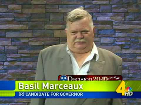 Basil Marceaux : The Next Governor of Tennessee