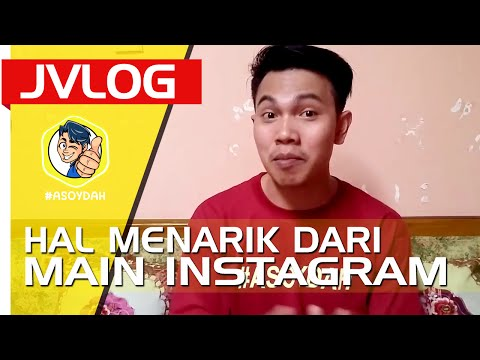 5 HAL MENARIK BERMAIN INSTAGRAM Feat Kevin Anggara dan Ria Ricis | JVLOG