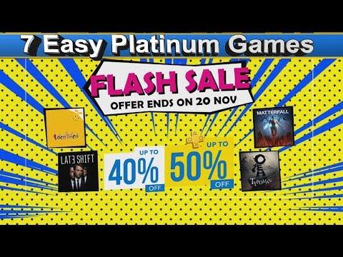 Psn Flash Sale - Playstation Hong Kong Store - 7 Easy Platinum Games