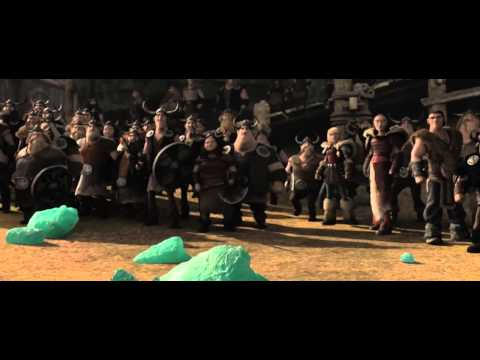 DreamWorks How To Train Your Dragon 2 Toothless saves Hiccup/ The final battle